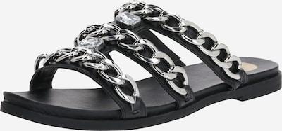 Sandale 'JANELLE' BUFFALO pe negru, Vizualizare produs
