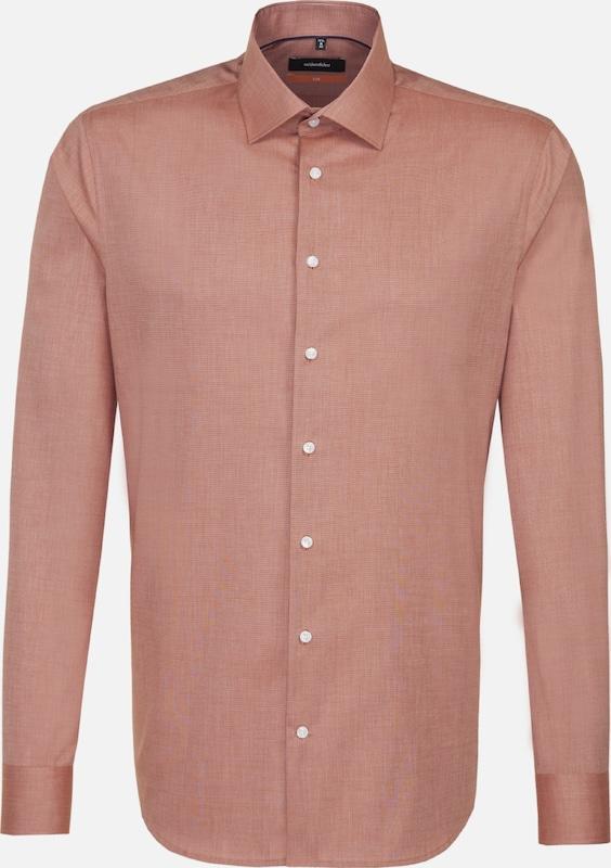 SEIDENSTICKER Hemd in Orange  Neue Kleidung in dieser Saison