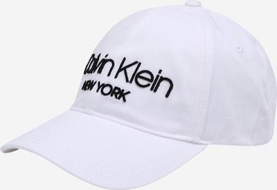 Calvin Klein Casquette 'NY BB' en blanc, Vue avec produit