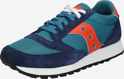 saucony Sneaker 'Jazz Vintage' in blau / grün / orange, Produktansicht