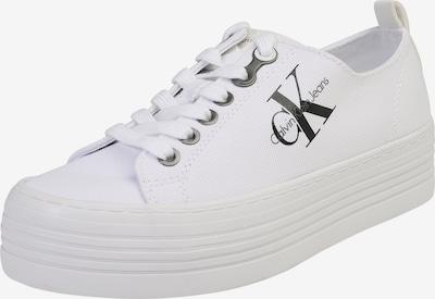 Calvin Klein Jeans Zemie apavi 'Zolah' pieejami balts, Preces skats