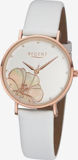 REGENT Uhr 'BA-667 3227.73.10' in gold / weiß, Produktansicht