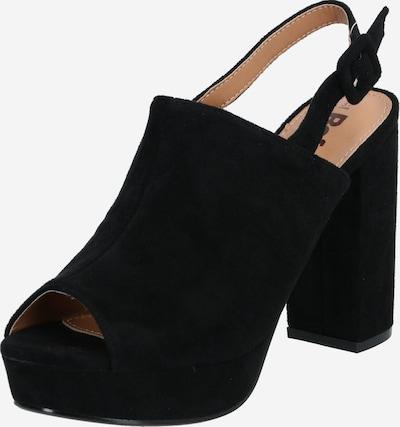 Refresh Sandale '69536' in schwarz, Produktansicht