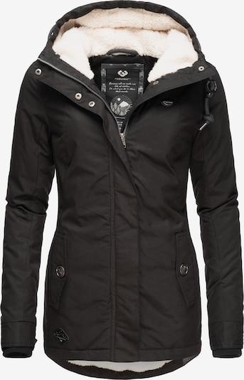 Ragwear Winterjacke 'Monade' in schwarz, Produktansicht