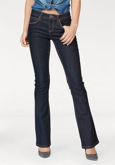 ARIZONA Bootcut-Jeans »Shaping« in blue denim, Modelansicht