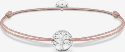 Thomas Sabo Armband 'Little Secret Tree of Love' in hellpink / silber, Produktansicht