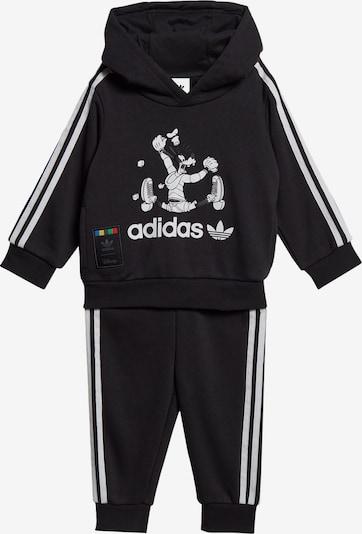 ADIDAS ORIGINALS Sportanzug in schwarz, Produktansicht