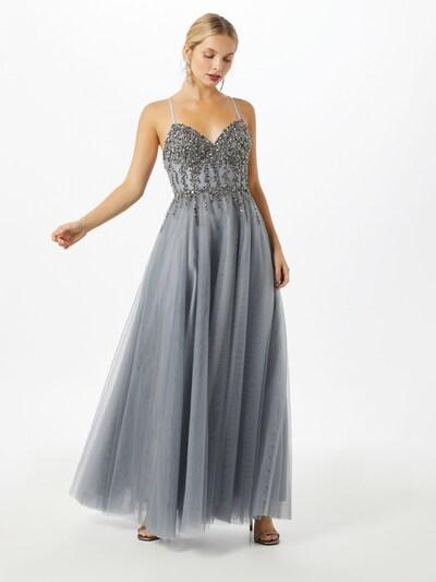 Unique Kleid in grau, Modelansicht