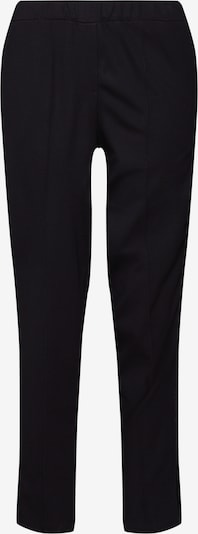 re.draft Pantalon 'Pants with Velvetdetail' en noir, Vue avec produit