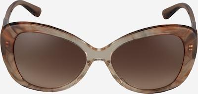 Ochelari de soare Michael Kors pe bej / maro: Privire frontală