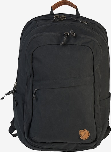 Fjällräven Rugzak 'Räven' in de kleur Zwart, Productweergave
