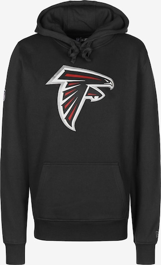 NEW ERA Dressipluus 'Atlanta Falcons' helepunane / must / Hõbe / valge, Tootevaade