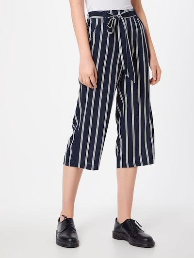 ONLY Pleat-front trousers 'Winner' in Night blue / White, View model
