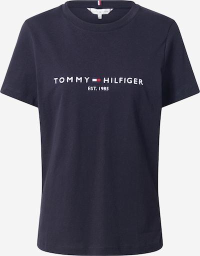 TOMMY HILFIGER Shirt in de kleur Smoky blue / Nachtblauw / Rood, Productweergave