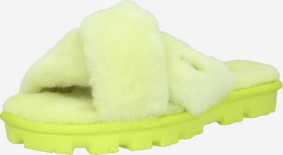 Saboți 'FUZZETTE' UGG pe galben neon, Vizualizare produs