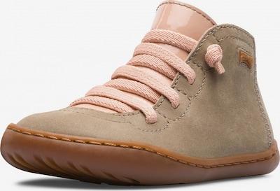 CAMPER Chaussons 'Peu' en sable / rose, Vue avec produit