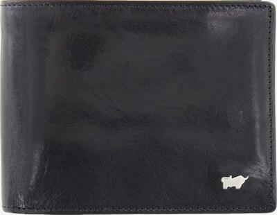 Braun Büffel Porte-monnaies 'Gaucho' en noir: Vue de face