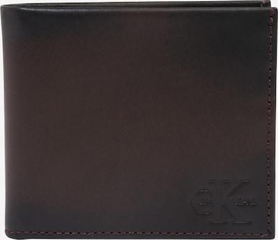 Calvin Klein Jeans Portemonnaie in dunkelbraun, Produktansicht