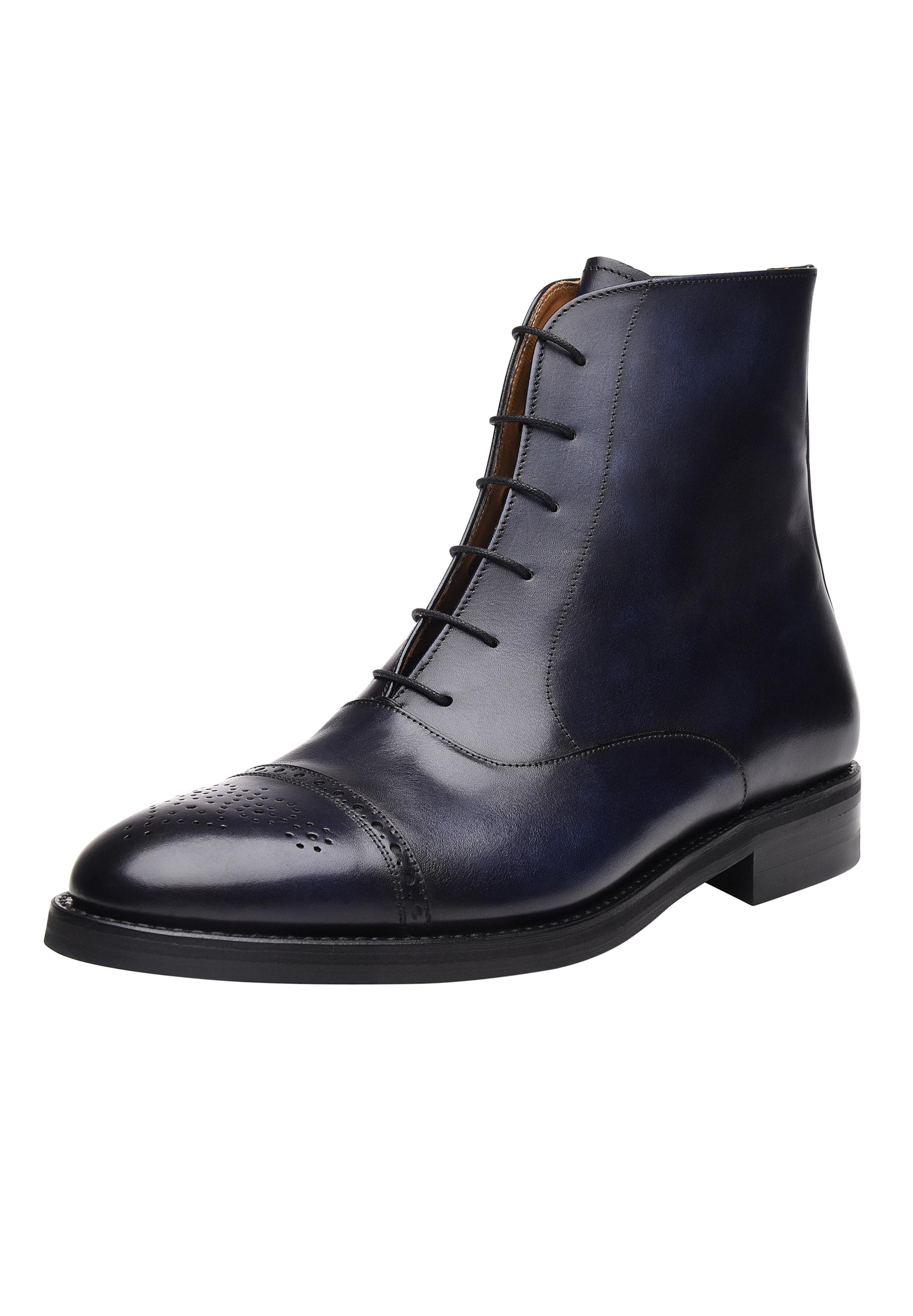Boots 'no6713' Rahmengenäht Shoepassion Indigo In b6fgvIY7y