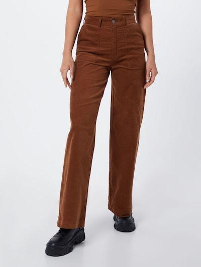 Pepe Jeans Chinosy 'MAYA' w kolorze brązowym, Podgląd na modelu(-ce)