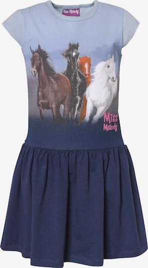 Miss Melody Jerseykleid in blau / mischfarben, Produktansicht