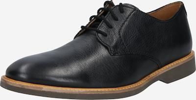CLARKS Čevlji na vezalke 'Atticus Lace' | črna barva, Prikaz izdelka