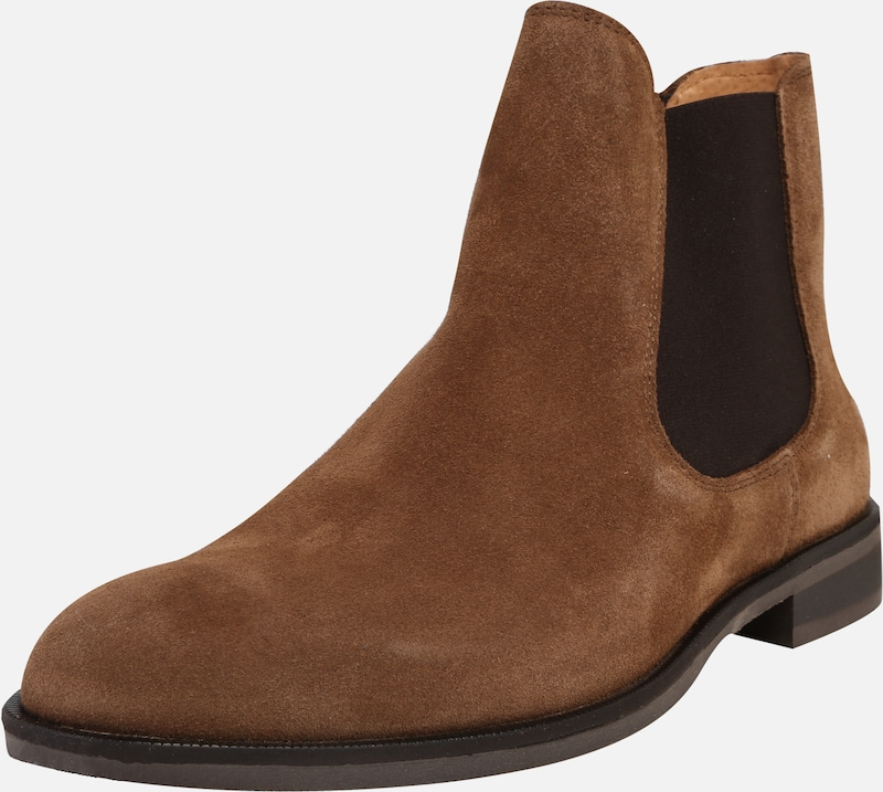 SELECTED HOMME Chelsea Stiefel in cognac, Produktansicht
