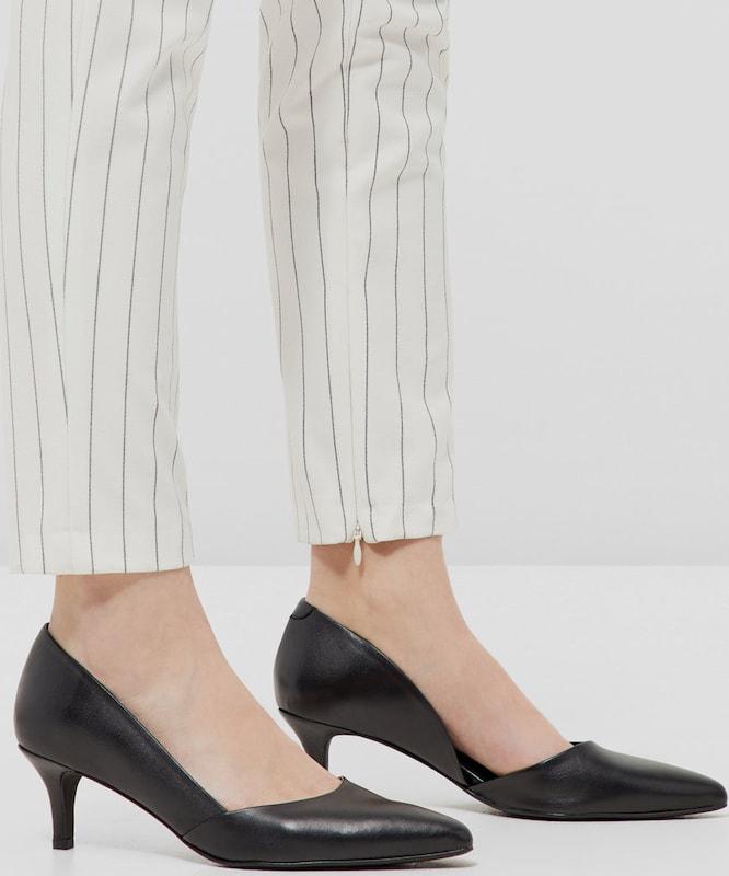 Bianco | Low Cut Wildleder Pumps