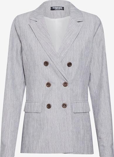 Fashion Union Blazer 'NERDY BLAZER' in grau, Produktansicht