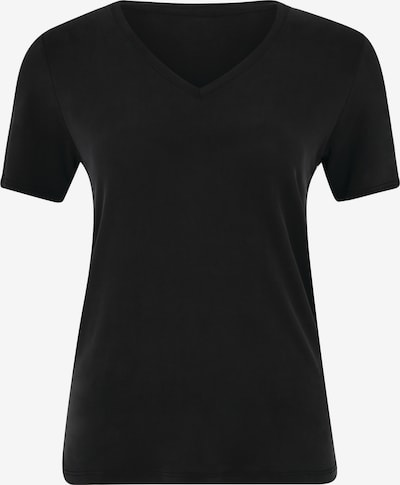 Daquïni V-Shirt Olivia V-Neck Tee in schwarz, Produktansicht