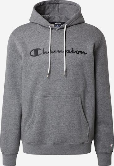 Champion Authentic Athletic Apparel Sweatshirt in grau / schwarz, Produktansicht
