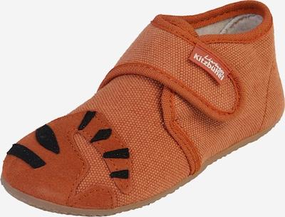 Living Kitzbühel Hausschuhe 'Babyklett Tiger' in braun, Produktansicht