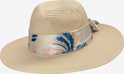 CODELLO Hut in beige / blau / lachs, Produktansicht