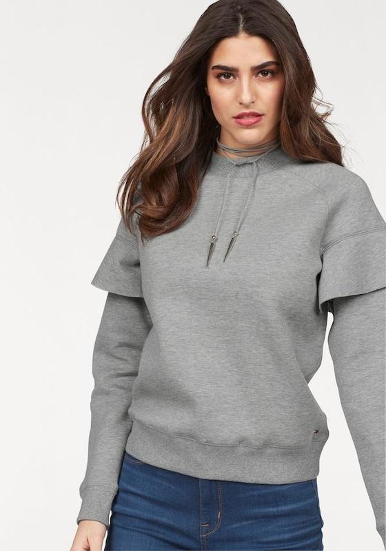 TOMMY HILFIGER Sweater 'CASSY HIGH NK SWEATSHIRT LS'
