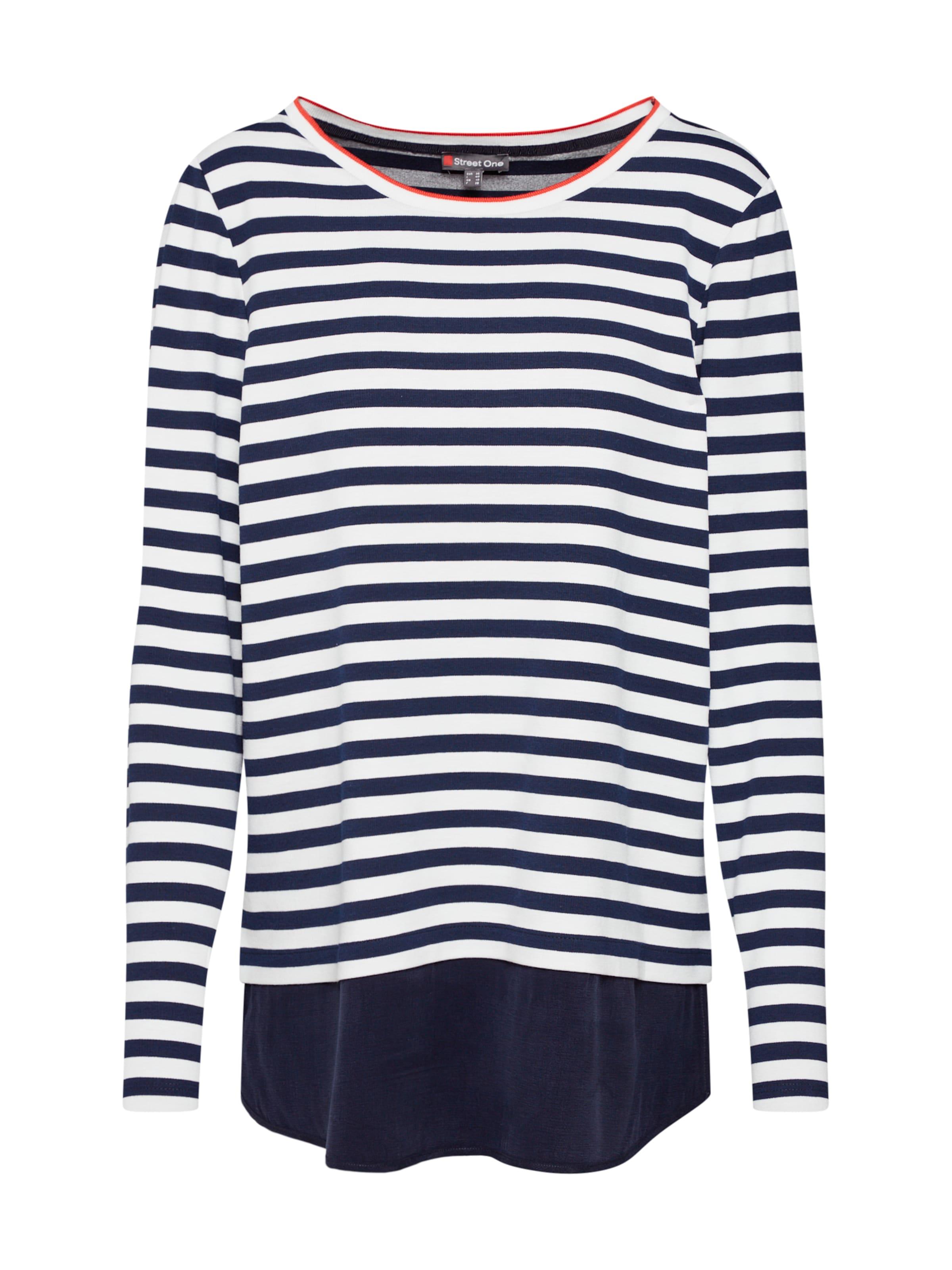 Street FoncéBlanc Bleu T Cassé One En shirt Nw08PnOkZX