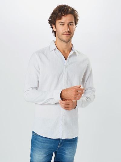INDICODE JEANS Overhemd 'Elmley' in de kleur Wit: Vooraanzicht