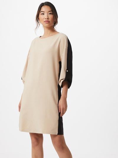 Trendyol Sukienka w kolorze beżowy / czarnym: Widok z przodu