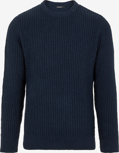 J.Lindeberg Nestor Knitted Pullover in blau, Produktansicht