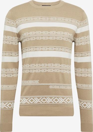 JACK & JONES Pullover 'DEXTER' in beige, Produktansicht