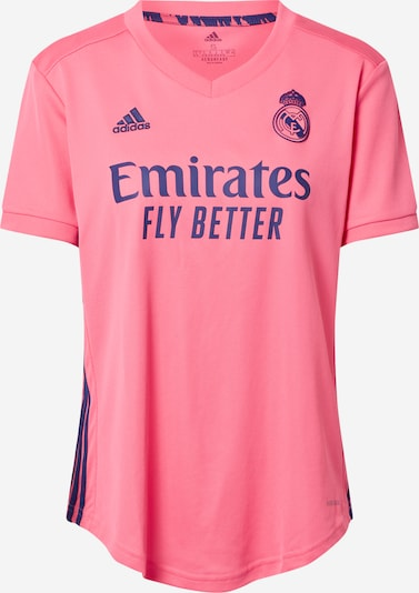 ADIDAS PERFORMANCE Shirt in blau / rosa, Produktansicht