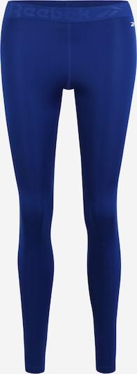 REEBOK Pantalon de sport 'WOR COMM TIGHT' en bleu roi, Vue avec produit