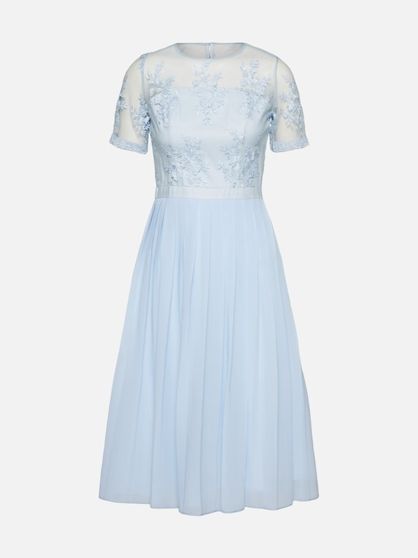 Bleu Clair En De Chi London Robe Cocktail SqaxzPw