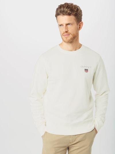 GANT Sweater majica 'D1.' u svijetla bež: Prednji pogled