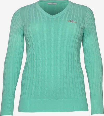 Tom Tailor Polo Team Pullover in grün, Produktansicht