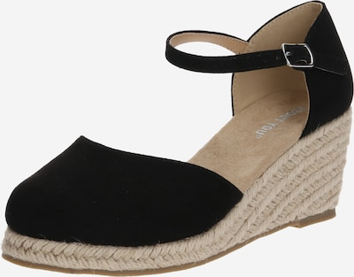 ABOUT YOU Espadrillaer 'Paulina' i sort, Produktvisning