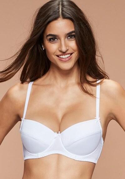 NUANCE BH in weiß, Modelansicht