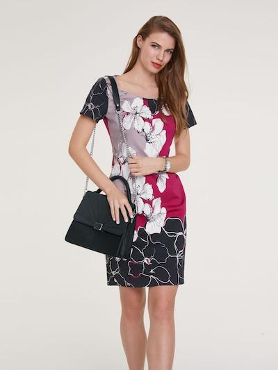 Trumpa kokteilinė suknelė iš heine , spalva - mišrios spalvos: Vaizdas iš priekio