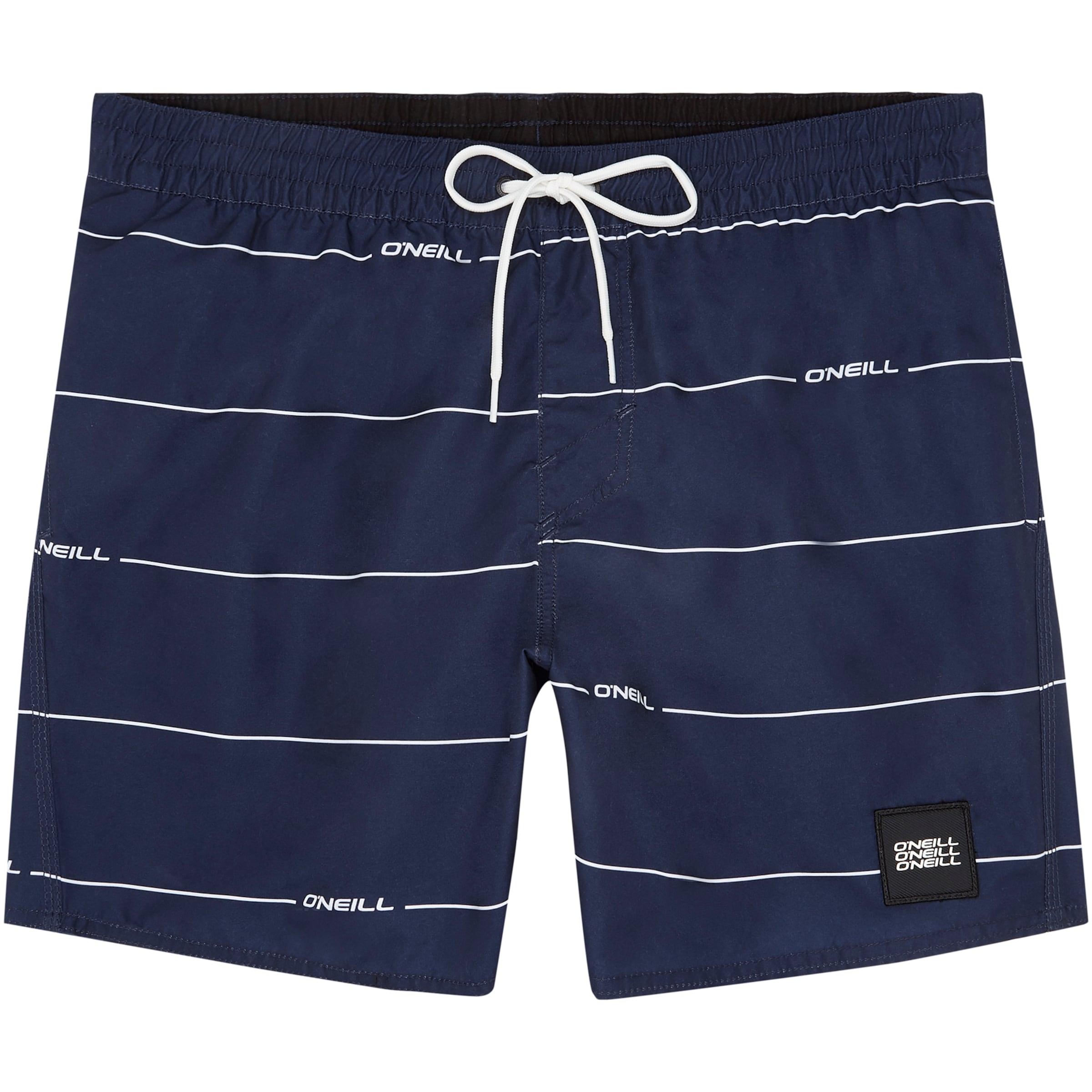 Bain De 'contourz' In MarineBlanc O'neillShorts Bleu Pn0wkO