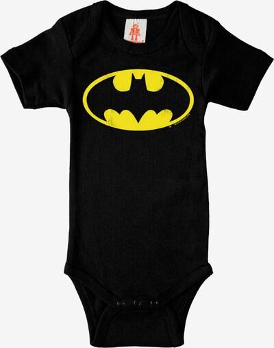 LOGOSHIRT Baby-Body Batman - Logo in gelb / schwarz, Produktansicht