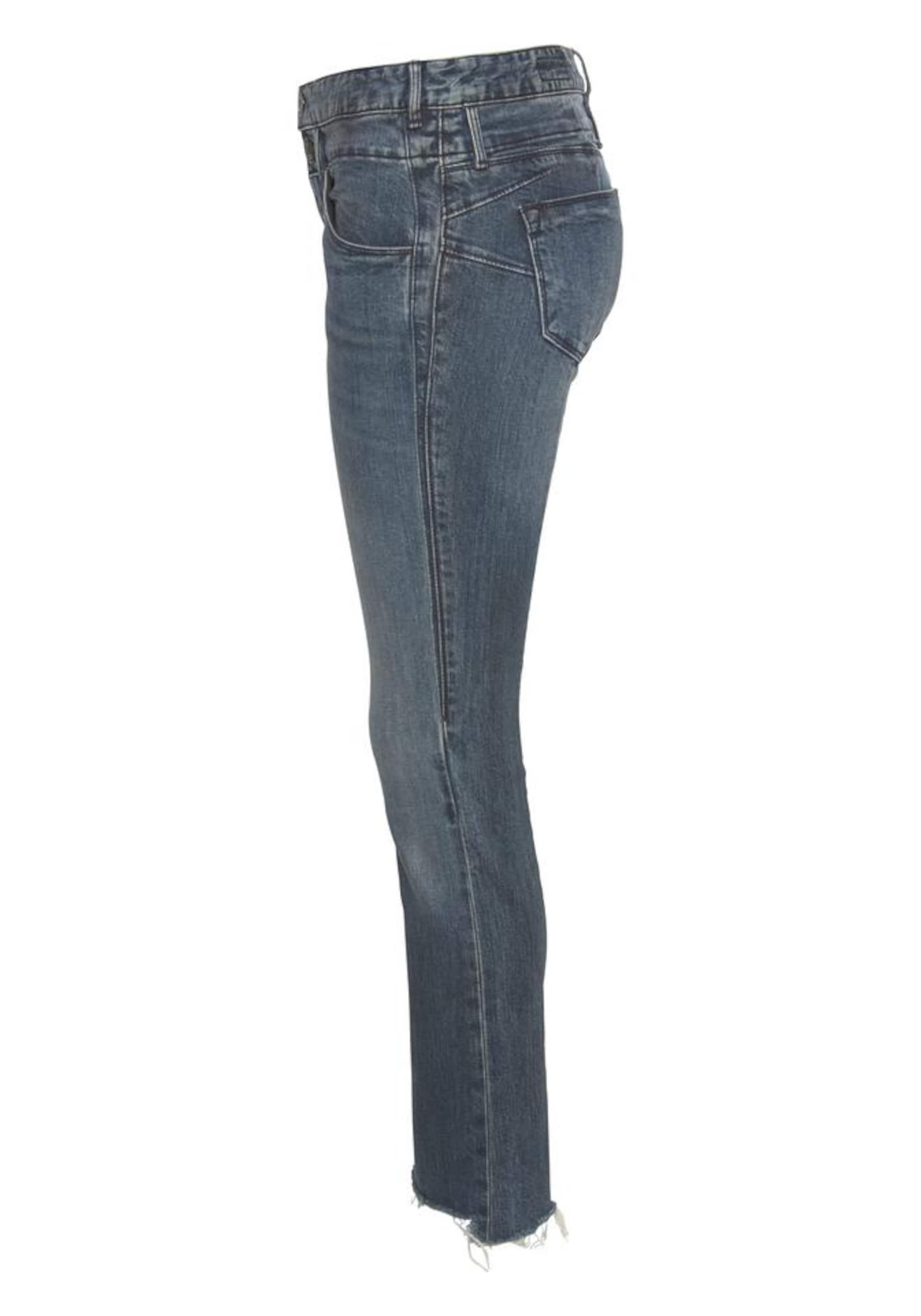 Herrlicher Jeans Cropped' Taubenblau In 'baby qSGVUMLpjz